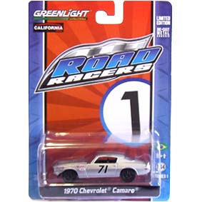 Greenlight Road Racers series 1 Chevrolet Camaro (1970) 27600 escala 1/64