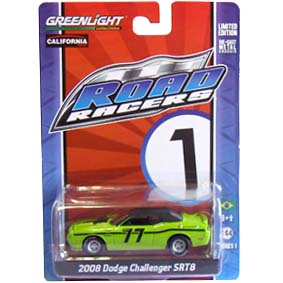 Greenlight Road Racers series 1 Dodge Challenger SRT8 (2008) 27600 escala 1/64