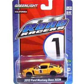 Greenlight Road Racers series 1 Ford Mustang Boss 302R (2012) 27600 escala 1/64