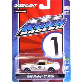 Greenlight Road Racers series 1 Shelby GT 350H (1966) 27600 escala 1/64