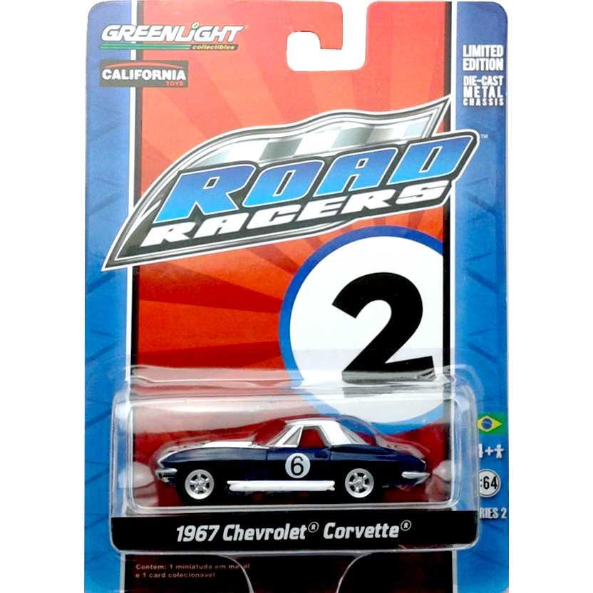 Greenlight Road Racers series 2 Chevrolet Corvette (1967) 27680
