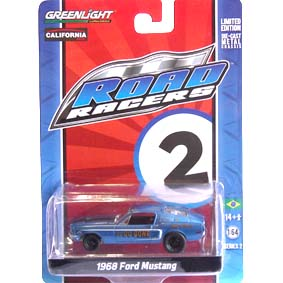 Greenlight Road Racers series 2 Ford Mustang (1968) 27680 miniatura escala 1/64