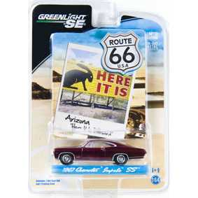 Greenlight Toys Route 66 Chevrolet  Impala SS similar Supernatural (1967) R1 29700