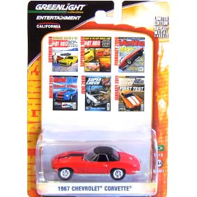 Greenlight Zine Machines series 2 Chevrolet Corvette (1967) 21740 escala 1/64