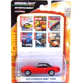 Greenlight Zine Machines series 2 Plymouth Hemi Cuda (1970) 21740 escala 1/64