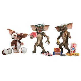 Gremlins (Gizmo, the Poker Player, and Stripe)