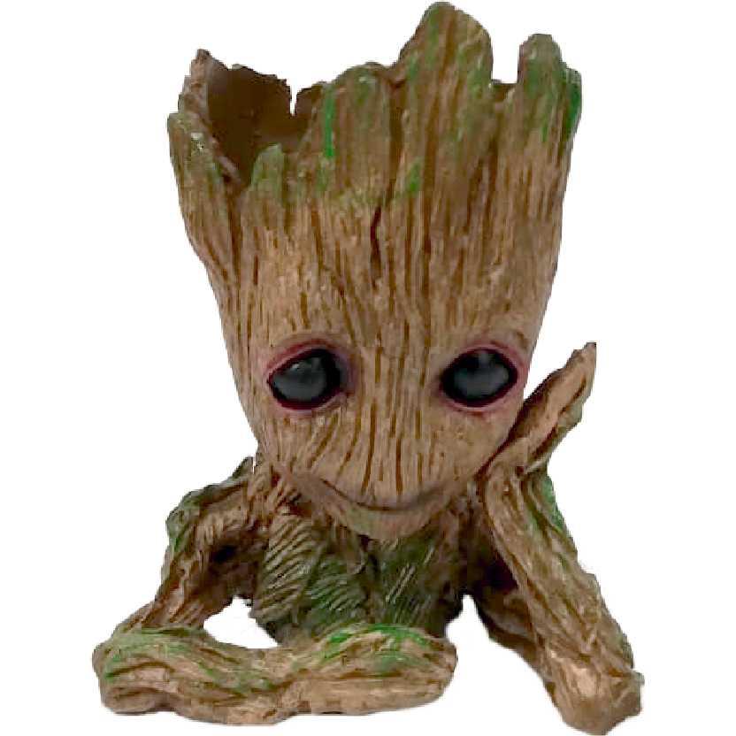 Groot pensador (Guardiões da Galáxia) Eu sou um vaso Cachepot em resina