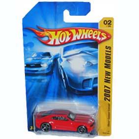Guia Hot Wheels 2007 Chevy Camaro Concept K6134 series 02/36 002/180