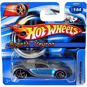 Guia Hot Wheels linha 2006 Bugatti Veyron J8000 144 Raridade escala 1/64