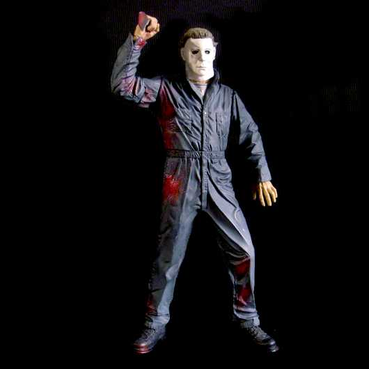 Halloween Michael Myers marca McFarlane Toys Action Figure - 45 cm com som