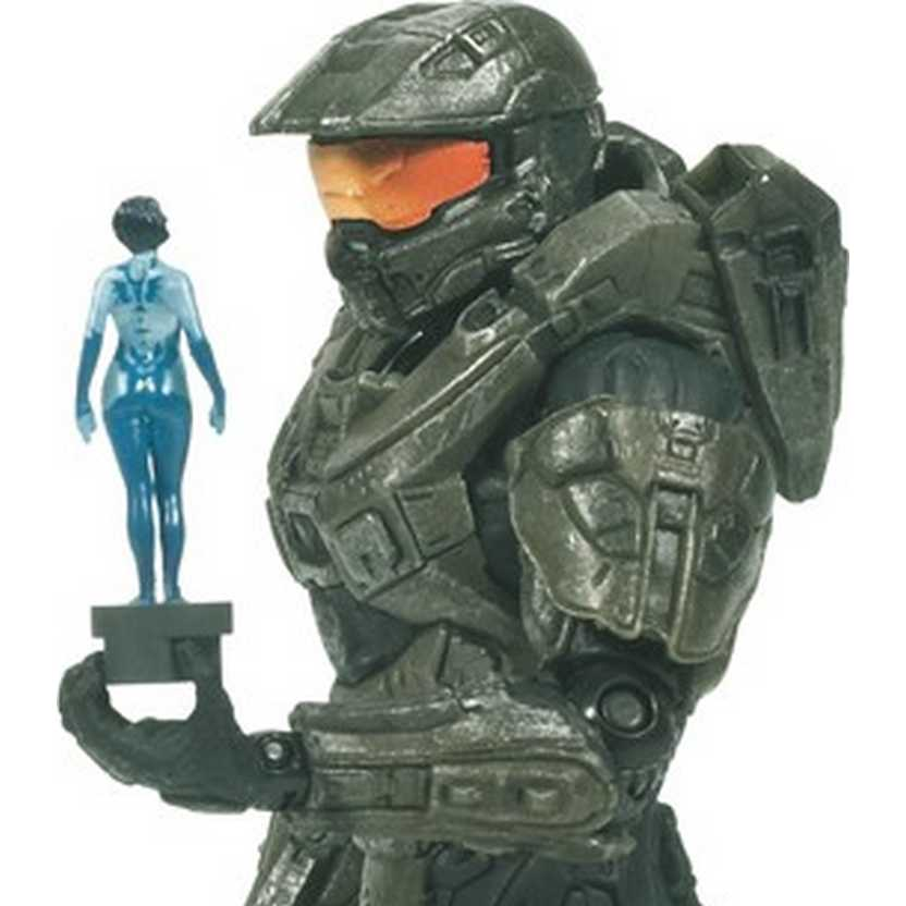Halo 4 Master Chief with Cortana Micro OPS series 2 McFarlane Toys Action Figures