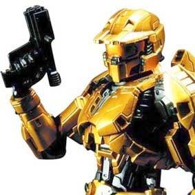Halo Combat Evolved Gold Mark V Play Arts Kai Square Enix Action Figures