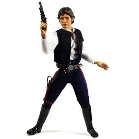 Han Solo Tatooine Smuggler (aberto) sem caixa