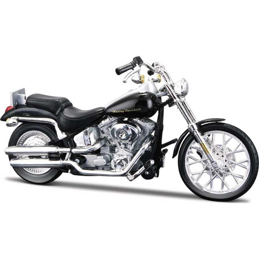 Harley-Davidson 2000 FXSTD Softail Deuce S-31 - Maisto escala 1/18