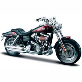 Harley Davidson da Maisto FXDFSE CVO Fat Bob S-29 (2009) escala 1/18