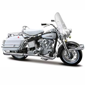 Harley Davidson Maisto FLH Electra Glide S-29 (1966) escala 1/18