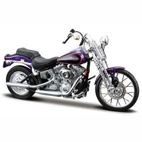Harley Davidson Maisto FXSTS Springer Softail S-29 (2001) escala 1/18