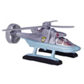 Helicóptero do Capitão vermelho (Patrick) seriado Captain Scarlet com som