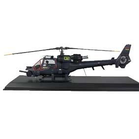 Helicóptero Trovão Azul Brinquedo em metal escala 1/32 Raridade