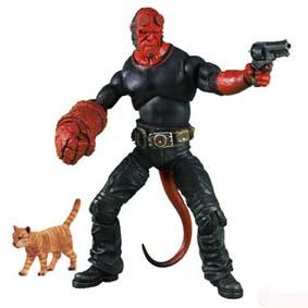 Hellboy 2 + gato + 6 cervejas series 2 (aberto)