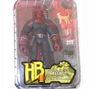 Hellboy 2 - Golden Army : Wounded Hellboy