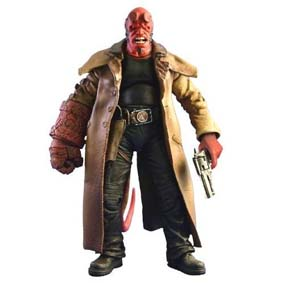 Hellboy 2 - The Golden Army: Hellboy  ABERTO.