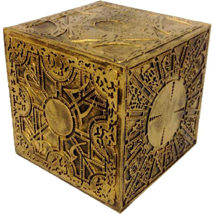 Hellraiser Cubo do Pinhead Configuração do Lamento Renascido do Inferno Clive Barker