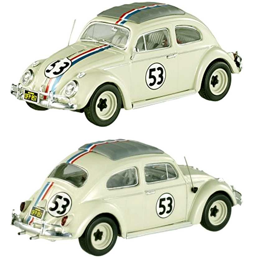 Herbie - Se o Meu Fusca Falasse - VW Fusca - The Love Bug BCK07 - Hot Wheels Elite escala 1/43