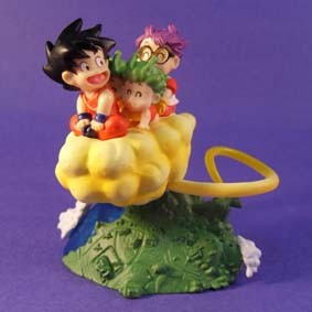 HG Imagination Gashapon Bandai P11 Goku e Arale
