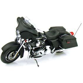 Highway 61 Harley-Davidson :: 2010 Harley-Davidson FLHX Street Glide 1/12 Black Denim