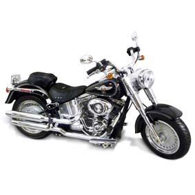 Highway 61 Harley-Davidson :: Miniatura Harley Davidson Fat Boy FLSTF (2012) 1/12