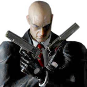 Hitman Absolution Play Arts Kai Agent 47 Square Enix Action Figure