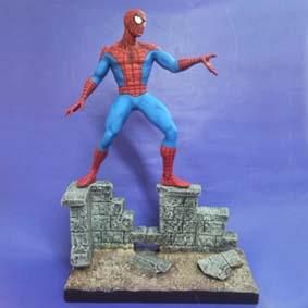 Homem Aranha no muro