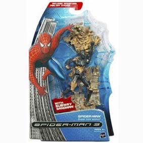 Homem Arannha 3 - Spider-Man With Subway Sandman