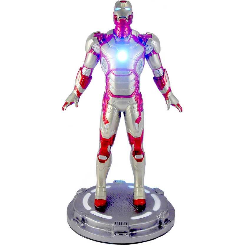 Homem de Ferro 3 ( Iron Man III - mark 42 ) com 5 leds