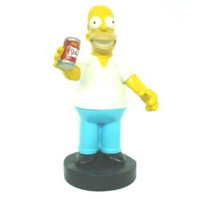 Homer com cerveja