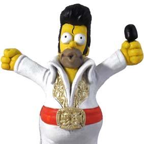 Homer Simpson : Elvis Presley