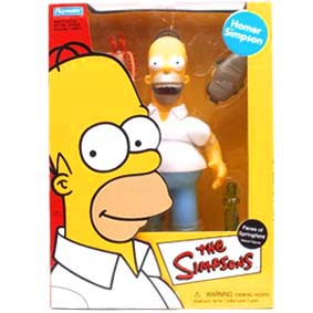 Homer Simpson - The Faces of Springfield Deluxe Figures marca Playmates