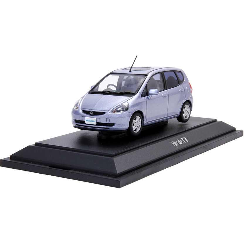 Honda Fit 1 de 720 peças (2003) escala 1/43 com caixa de acrílico marca Ebbro