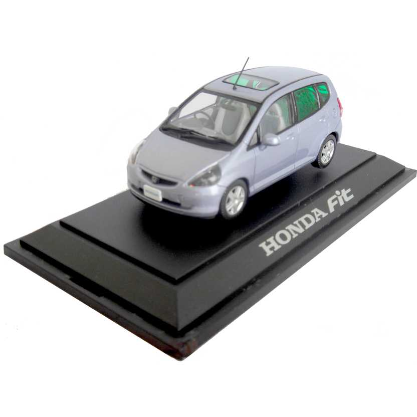 Honda Fit (2003) com caixa de acrílico marca Honda Collection escala 1/43