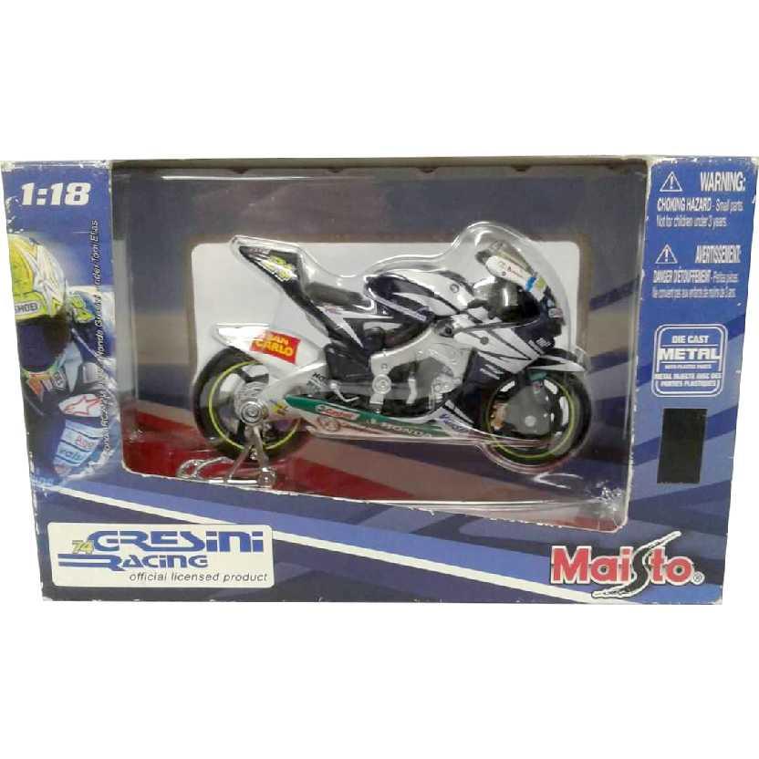 Honda Gresini Racing #24 Toni Elias Team 2007 marca Maisto escala 1/18