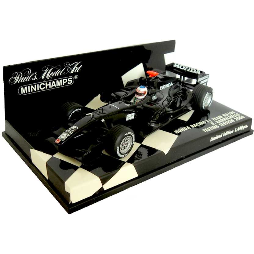 Honda Racing F1 Team RA106 (2006) Rubens Barrichello - Minichamps escala 1/43