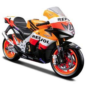 Honda RC211V Andrea Dovizioso 2009 (4) Repsol  moto Maisto escala 1/18