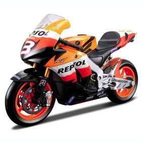 Honda RC211V Dani Pedrosa 2009 (3) Repsol moto Maisto escala 1/18