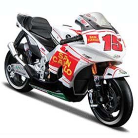 Honda RC212V Gresini Alex De Angelis 2009 (15) Moto Maisto escala 1/18