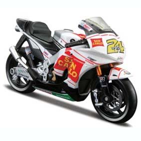 Honda RC212V Gresini Toni Elias 2009 (24) Moto da Maisto escala 1/18