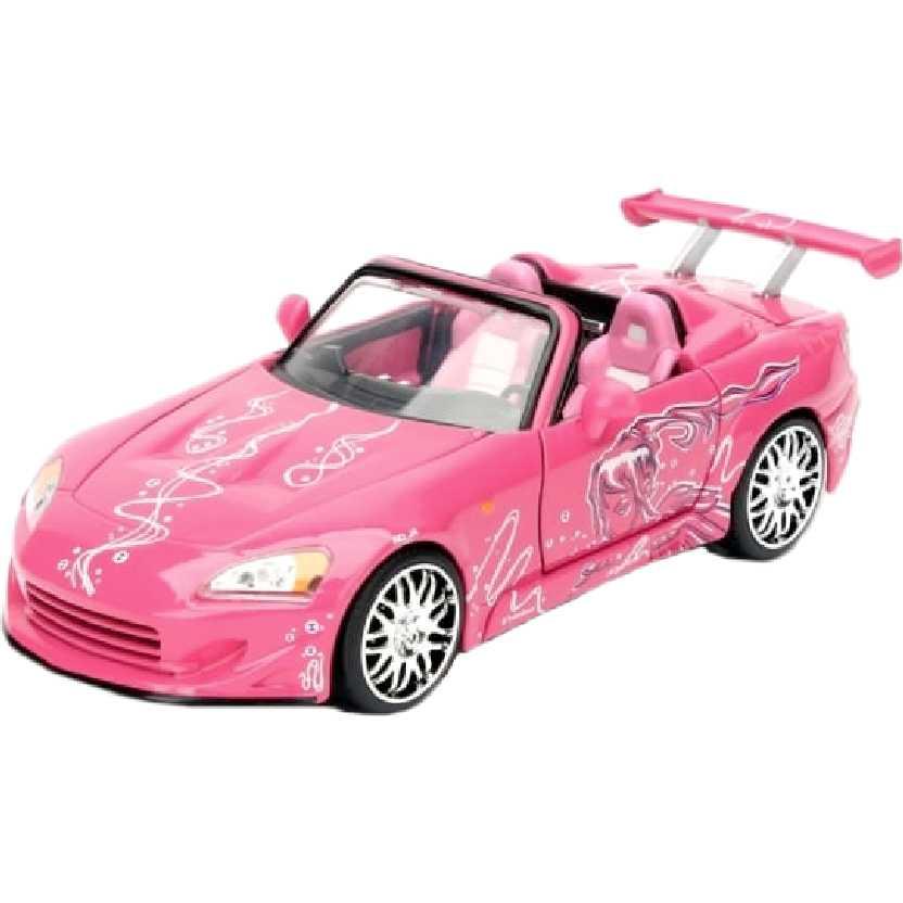 Honda S2000 conversível (2001) carro rosa da Suki : Velozes e Furiosos Greenlight escala 1/24