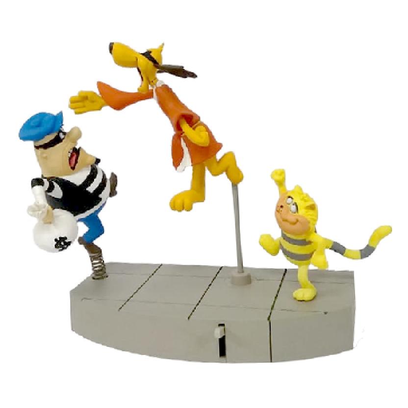 Hong Kong fu (série 1) Figura de Ação da Hanna Barbera (aberto)