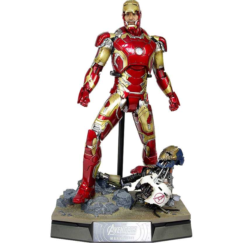 Hot Toys  Avengers Age of Ultron - Iron Man MK 43 Mark XLIII MMS278 Homem de Ferro escala 1/6