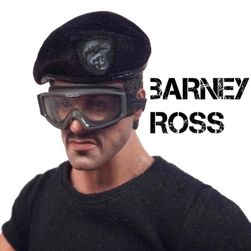 Hot Toys - Barney Ross Expendables 2 : Sylvester Stallone ( Os Mercenários 2 )